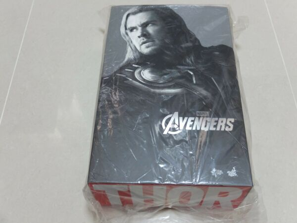 Hot Toys MMS 175 The Avengers Thor Chris Hemsworth 12 inch Action Figure NEW