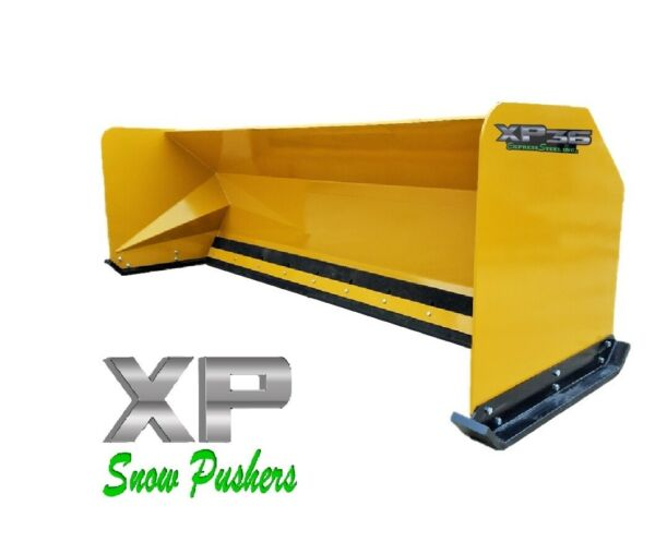 10' XP36 Snow pusher boxes backhoe loader snow plow - LOCAL PICK UP-RTR