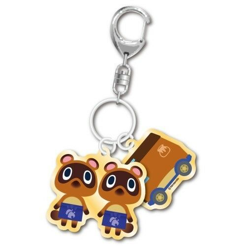 Animal Crossing Timmy and Tommy and Charm Key Chain Anime Manga NEW $11.95