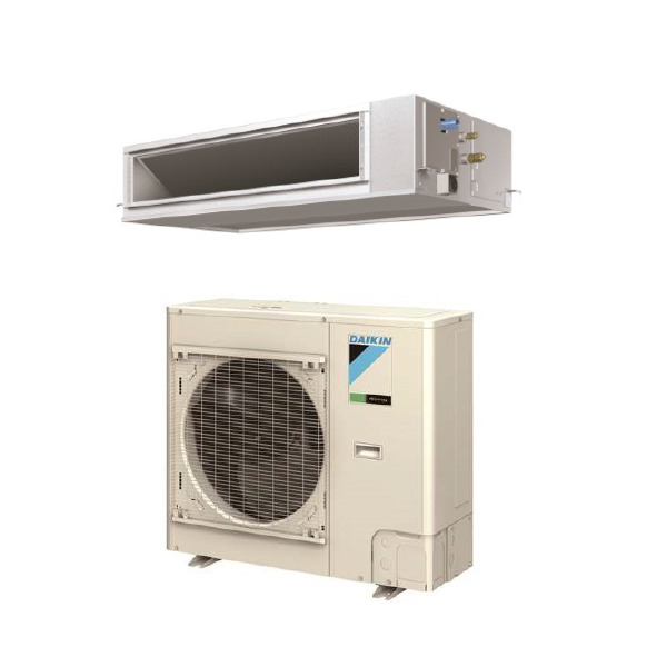 24000 Btu 16.5 Seer Daikin Single Zone Ducted Heat Pump System