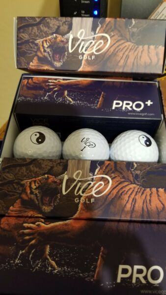 Vice Golf Balls...Pro by the Sleeve 3 balls