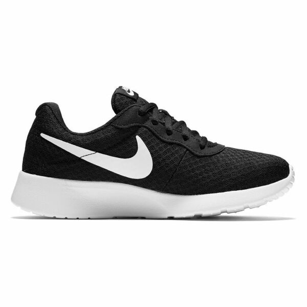 NEW Nike Tanjun Women's Athletic Shoes in Black White SELECT SIZE