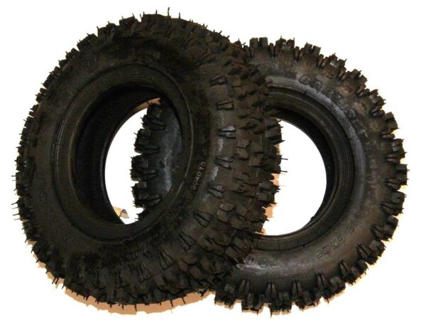 SET Of 2 4.10-6 Snow Blower thrower TIRES Snow Hog 410-6 4.10x6 Ariens 71213