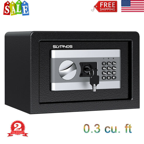 Electronic Security Safe Box Digital Cabinet Home Office Jewelry Cash Storage US