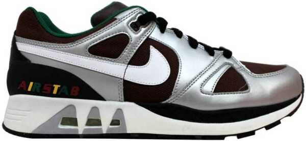 Nike Air Stab Baroque Brown/White-Reflect Silver 315841-211 Men's SZ 7.5