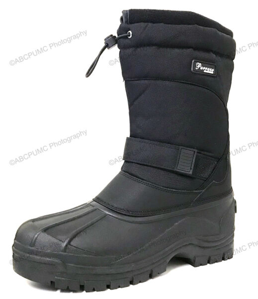 Brand New Mens Snow Boots Insulated Waterproof Heavy Duty Thermolite Winter Shoe