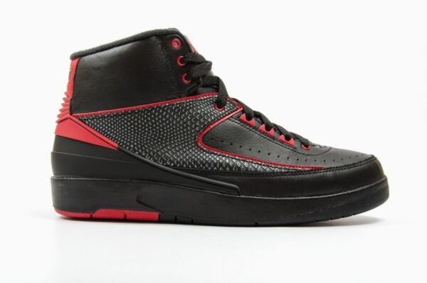 Nike Air Jordan 2 Retro Black/Varsity Red