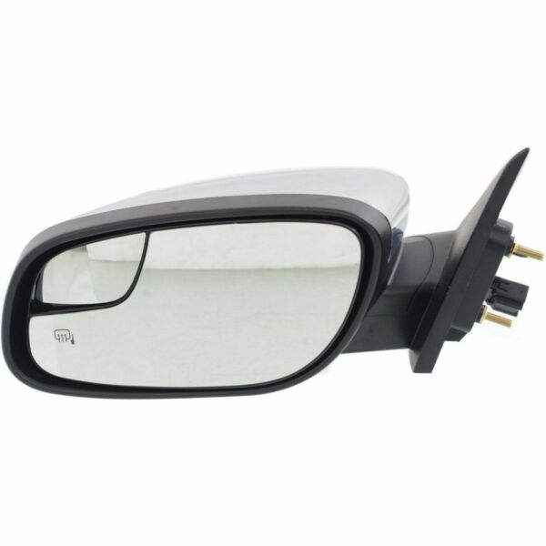 New FO1320449 Driver Side Chrome Non-Towing Mirror For Ford Taurus 2013-2015