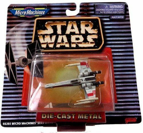 Star Wars Micro Machines Die Cast X Wing