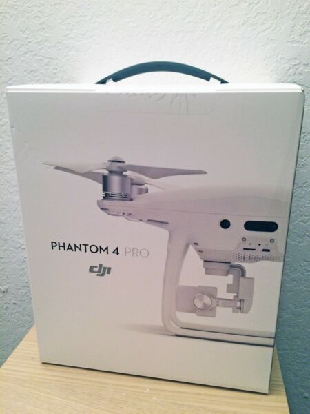 NEW DJI Phantom 4 Pro Quadcopter Drone 4K60 Gimbal-Stabilized 20MP Camera SEALED