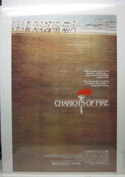 Chariots of Fire 30quot; x 40quot; Movie Poster 1981 810125