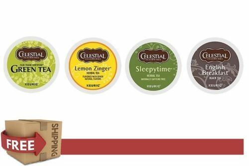 DAILY DEAL : Keurig 44 Count k-cups CELESTIAL SEASONINGS Variety Pack TEA