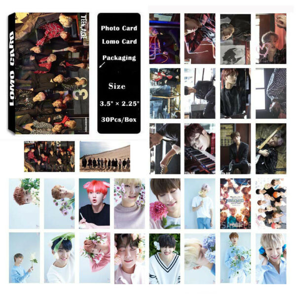 30pcs/set Kpop SEVENTEEN TEEN, AGE Album Poster Photo Card Lomo Cards