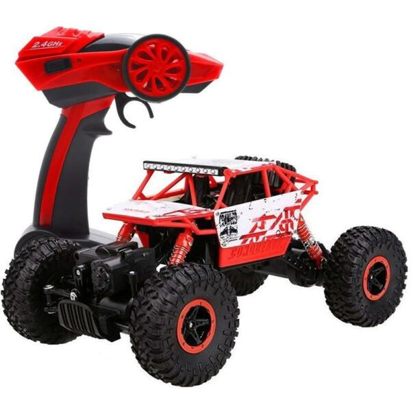 4WD RC Monster Truck Off-Road Vehicle 2.4Ghz Remote Control Buggy Crawler Car
