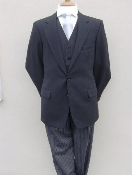 BLACK FUNERAL DIRECTORS MORNING SUIT JACKET ALL SIZES
