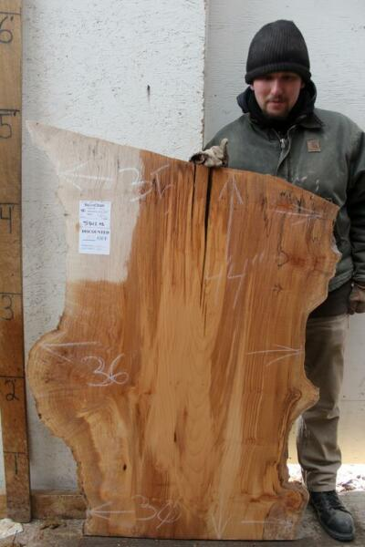 Curly Big Leaf Maple Wood Slab Table Figured Natural Live Edge Countertop 5342a3