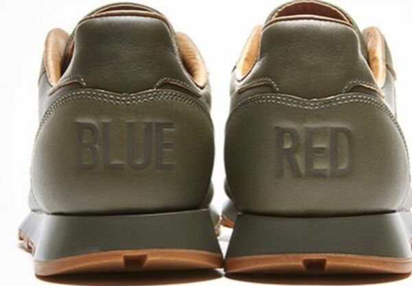 "Kendrick Lamar Reebok Classic Leather Lux Sneakers ""Red and Blue"