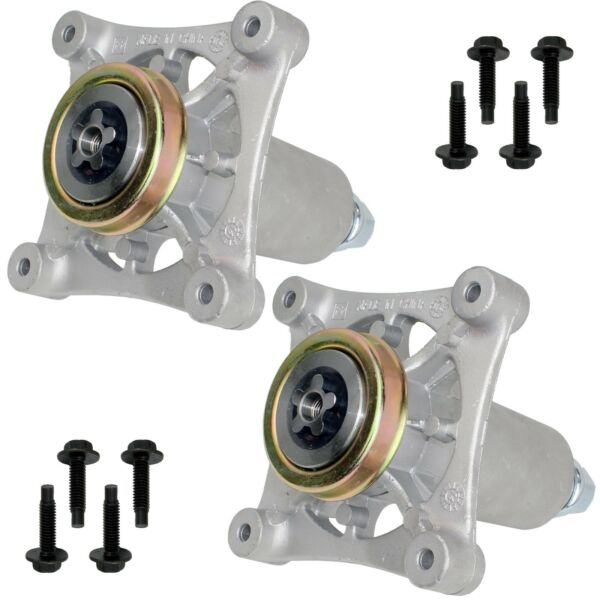 2 Spindle Assembly for Ayp Husqvarna Craftsman Lawn Mowers 285 585 187292 192870