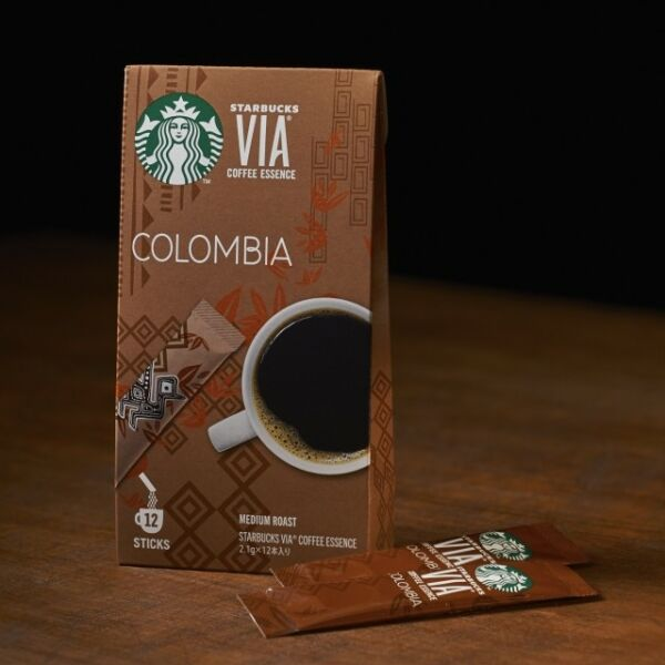 Starbucks Japan Via Coffee Essence Columbia Stick type 2.1 g × 12ea box