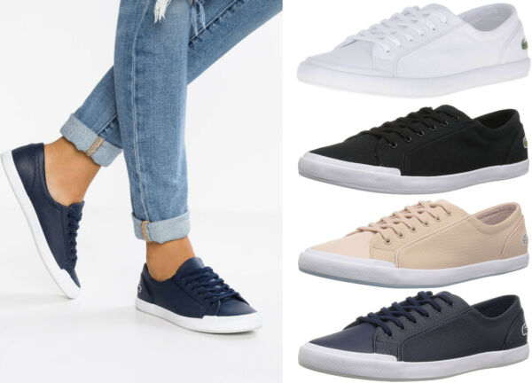 Womens Lacoste Shoes Lancelle 6 Eye Sneakers Lancelle Shoes NEW