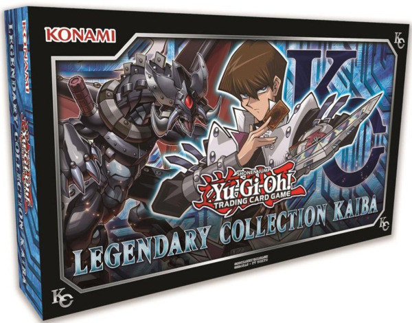 YUGIOH Legendary Collection KAIBA BOX (3 MEGA BOOSTER PACKS 5 PROMO +GAME BOARD)