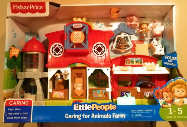 Fisher-Price Little People Caring for Animals Farm Playset - Fisher Price