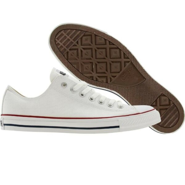 $69.99 Converse Men Chuck Taylor All Star Low Ox (optical white) M7652