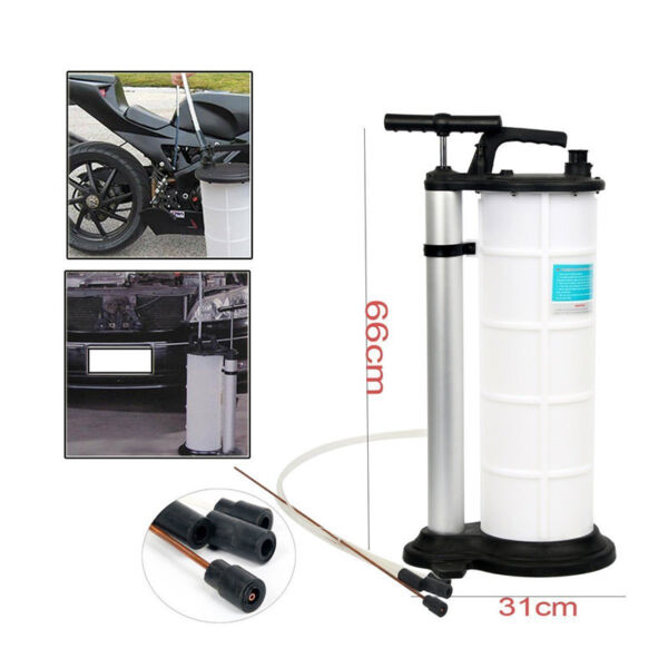 9L Fluid Evacuator Manual Oil Changer Hand Operated  Oil Changer Extractor