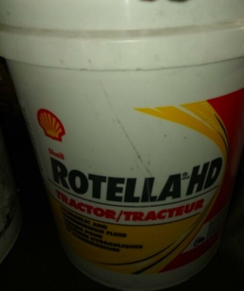 Shell Rotella 550039811 Heavy Duty Tractor Fluid - 5 Gallon Pail