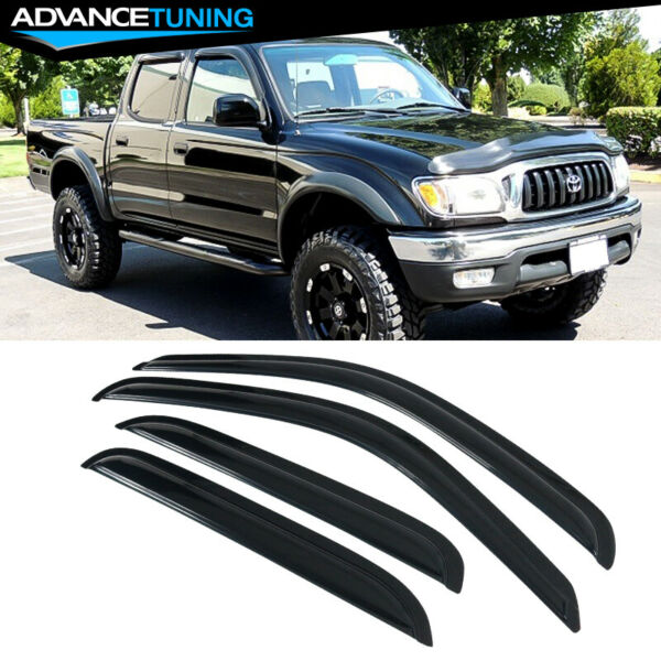 Fits 01-04 Toyota Tacoma Acrylic Window Visors 4Pc