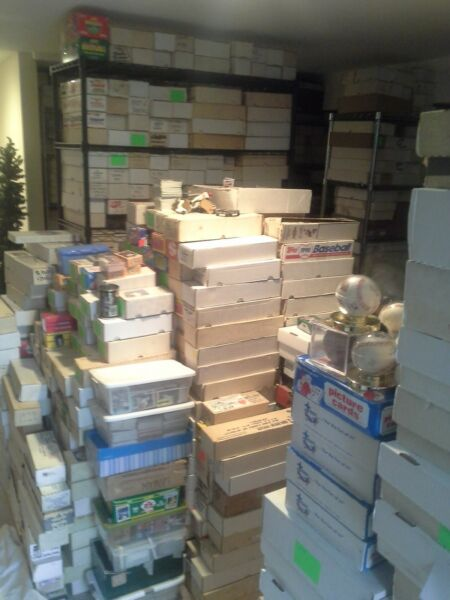 HUGE LOT OF 3000 Baseball Cards 1970's-2000's 100+ Rookies Free Shipping!!!!