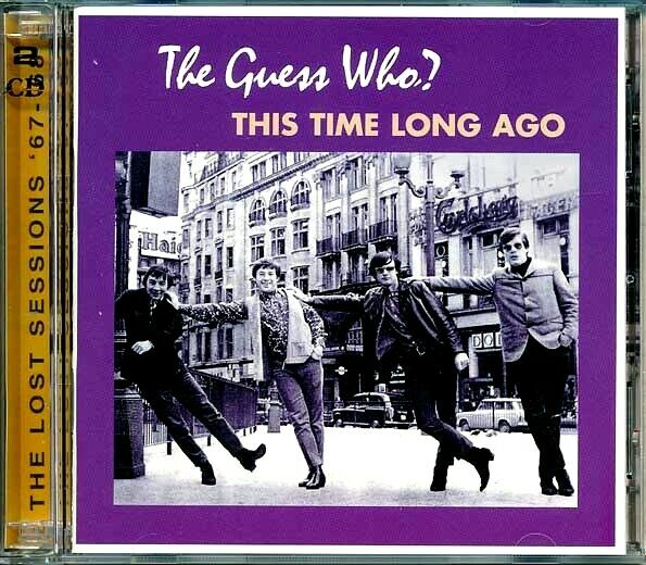SEALED NEW CD Guess Who The This Time Long Ago: The Lost Sessions 67 68
