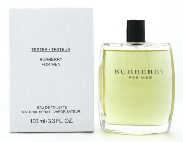 Burberry for Men Classic by Burberry 3.3 oz. Eau de Toilette Spray Tester No Cap $20.93