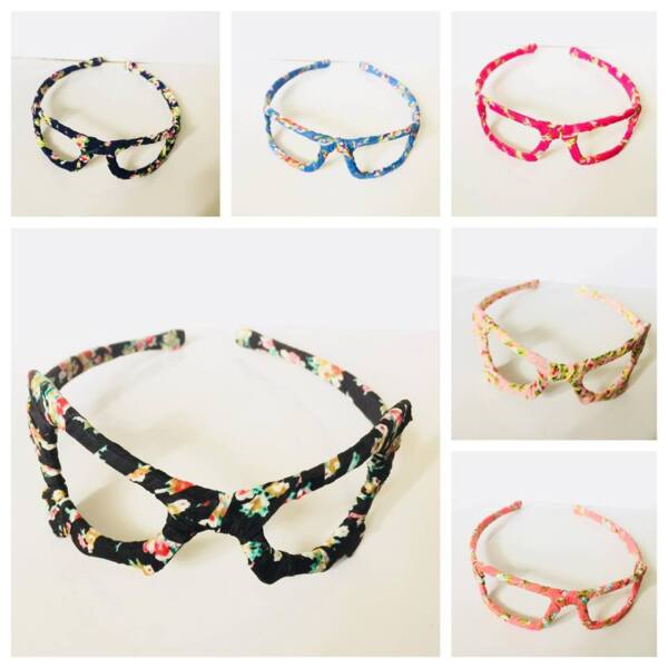2018 DESIGN girls SUNGLASSES STYLE Alice bands headband FLORAL fabric hair band