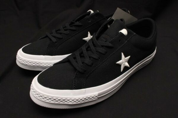 CONVERSE ONE STAR OX BLACK/WHITE 160600C