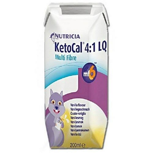 Oral Supplement Ketocal 4:1 Vanilla 300 Gram Can Powder 101777 Case6