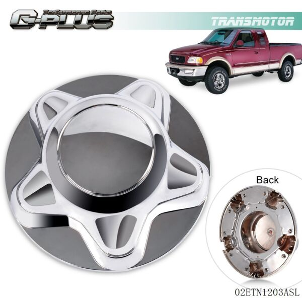 For 97-03 Ford F150 Expedition Wheel Center Hub Caps Rim Covers 5 Lug Nut Hubcap