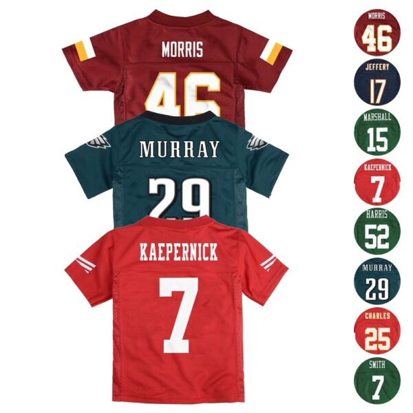 NFL Various Team Player Official Jersey Collection Newborn Infant (3-24 Months)