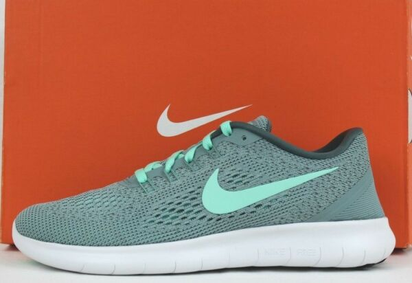 Nike Womens Free RN Running Shoes Sneakers Green Glow 831509 004 New Sz 6 - 9