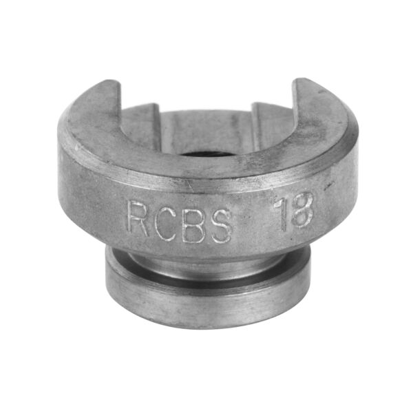 RCBS Hunting Reloading Single Stage Press Shell Holder Size #18 Silver 09218