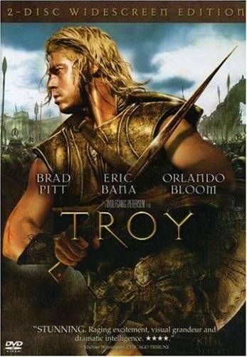 Troy Two Disc Widescreen Edition DVD VERY GOOD