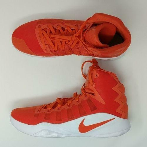 Nike Zoom Hyperdunk TB Promo Basketball Shoes Orange/White 844368-881 Size 17
