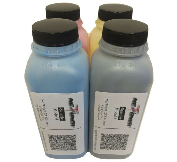 (260g120g) 4 Color Toner Refill + 4 Chips for Ricoh MP C306 C307 C406 (MP C406)