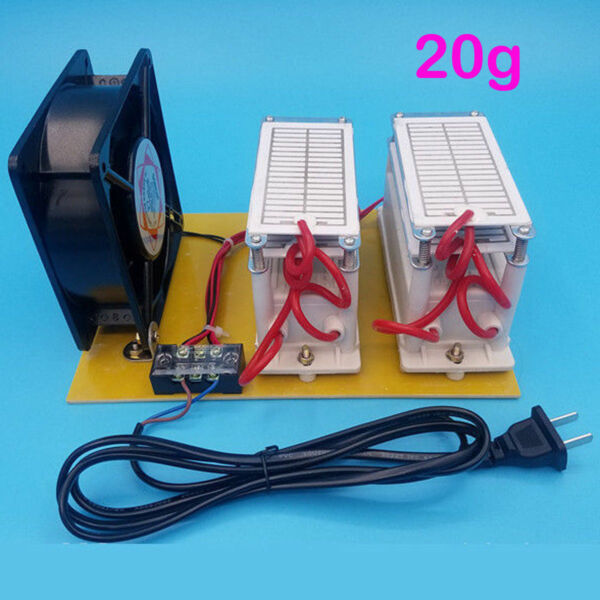 20g/h 110V High Concentration Ozone Generator Ozonator Air Purifier Home Store