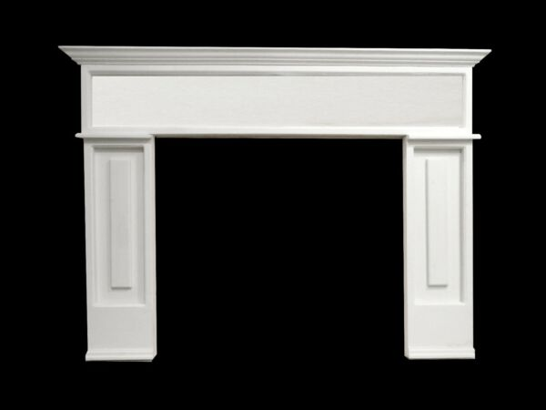 Fireplace Surround - Choice of Size Color Material  - ROMAN
