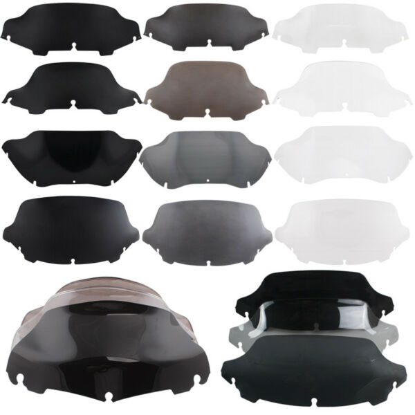4.5quot; 6quot; 7quot; 8quot; 9quot; 10quot; Wave Windshield Windscreen For Harley Electra Street Glide
