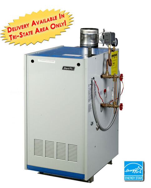 Slant Fin Galaxy GXHA 100 EDPZT Natural Gas Steam Boiler Tankless Heater W Coil $2367.00