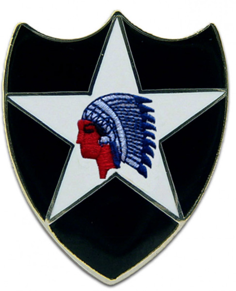 US Army 2nd Infantry Division Lapel Pin 1