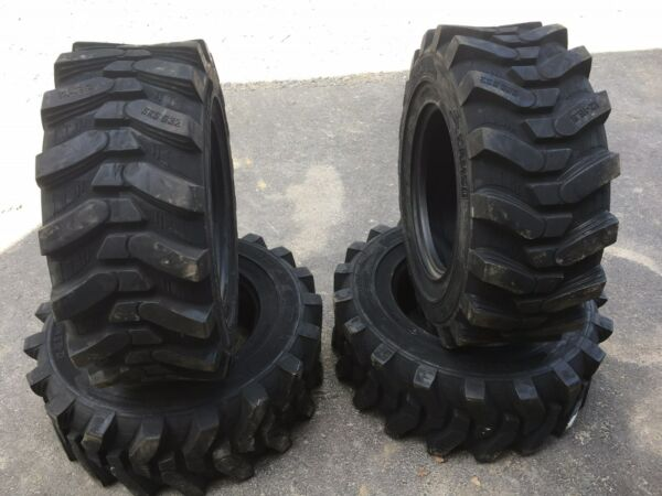 4-12-16.5 HD Skid Steer Tires - Camso SKS532-12X16.5 Xtra Wall-for Bobcat