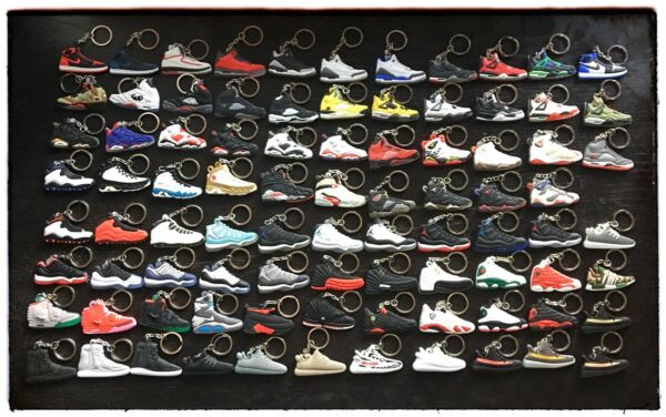 Air Jordan Retro Sneaker KeyChain Buy 4 Get 2 FREE